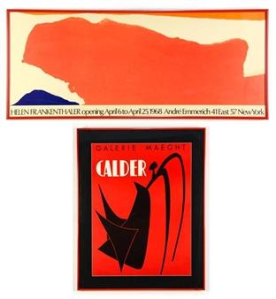 Alexander Calder Helen Frankenthaler 2 Works