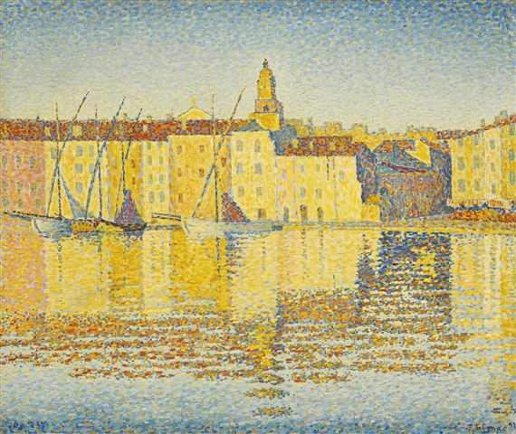 Signac Paul Maisons Du Port Saint Tropez 1892 Mutualart
