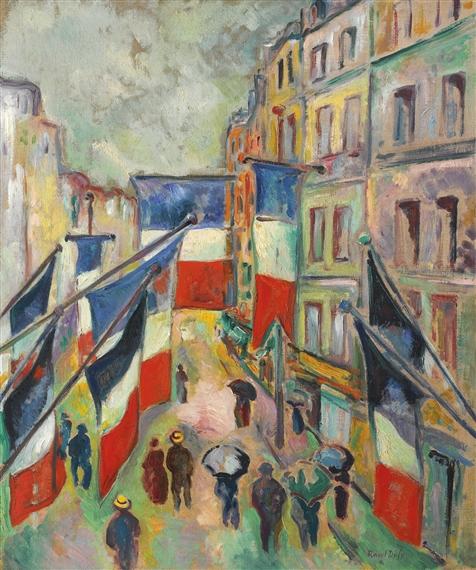 Dufy Raoul 14 Juillet Au Havre 1906 Mutualart
