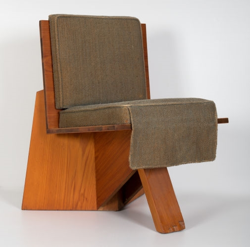 Pleasing Frank Lloydwright Dining Chair From The Clarence Sondern Theyellowbook Wood Chair Design Ideas Theyellowbookinfo