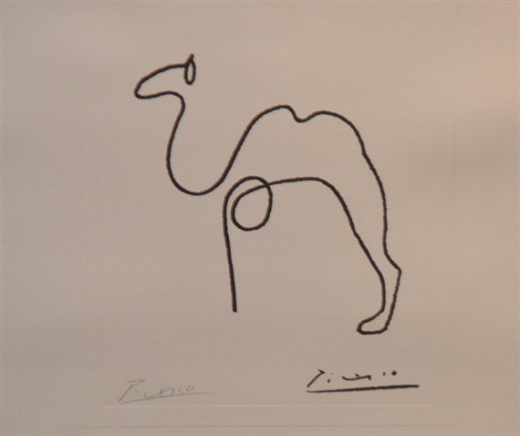 Picasso Pablo | camel line drawing | MutualArt