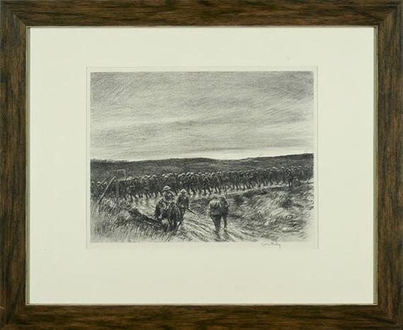 Kerr eby polperro no 2 etching for Bureau 02 chateau thierry