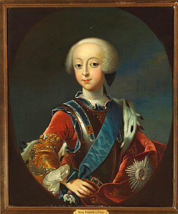 Møller Andreas Portrait Of Frederik V As A Child Mutualart