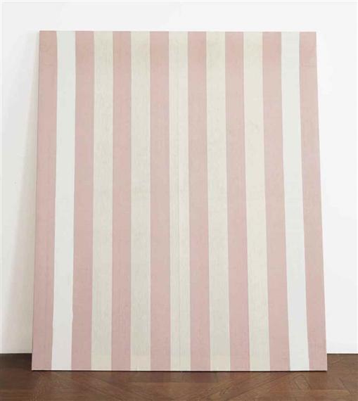 Auction results for daniel buren french 1938 - Peinture rouge et blanc ...