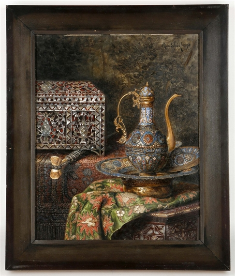 Still Pictures Are All Very Fine And >> Schodl Max A Very Fine Orientalist Still Life Mutualart