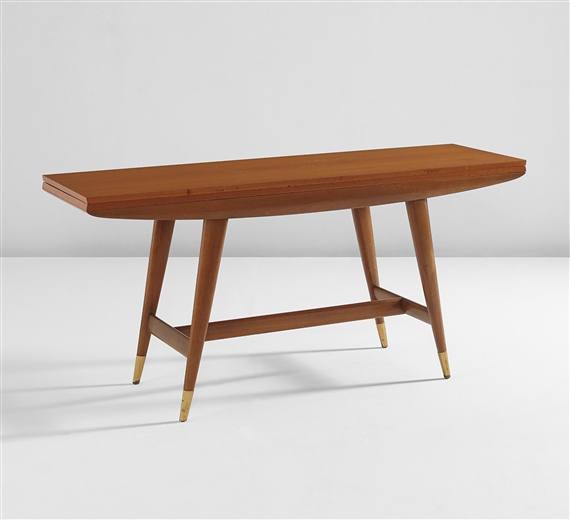 Gio ponti bench designed for casa matteo longoni for Console table extensible