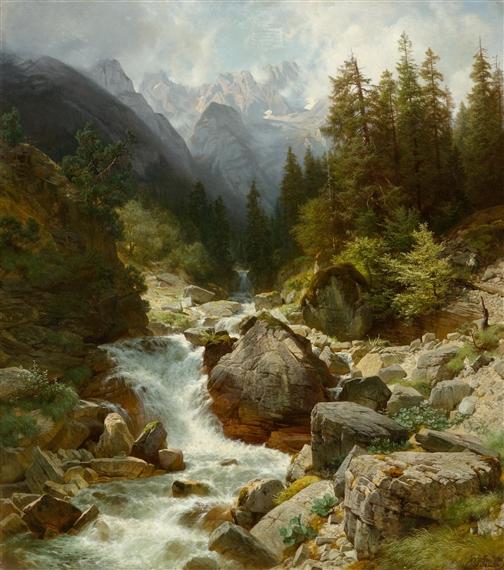 Картина водопада