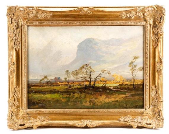 Frank Thomas Carter Borrowdale Valley Birches Mutualart