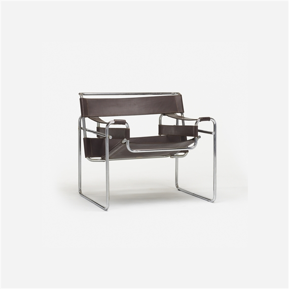 marcel breuer wassily model b3 chair 20th. Black Bedroom Furniture Sets. Home Design Ideas