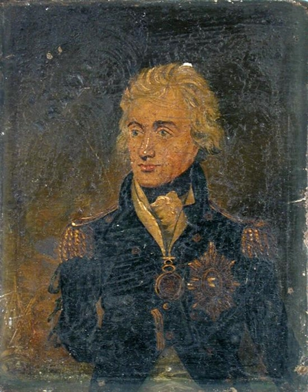 Artwork By British School 18th Century Portrait Of Admiral Lord Nelson Made