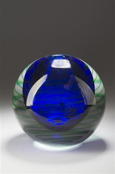 Libensk Stanislav A Spherical Vase 1970 Mutualart