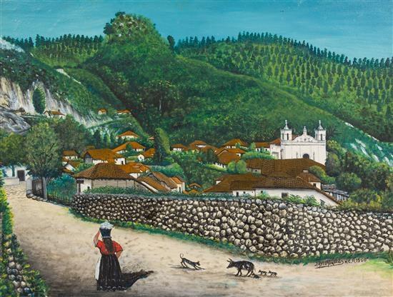 San Antonio de Oriente Oil Painting by Jose Antonio ... |Jose Antonio Velasquez Paintings