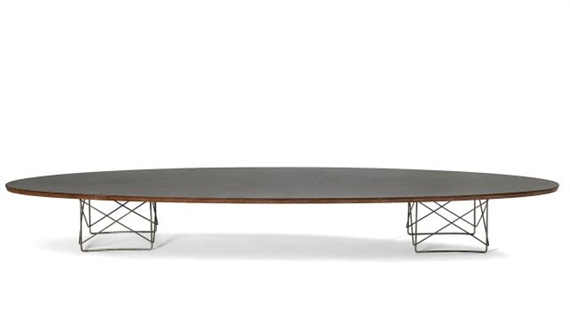 Charles Ray Eames Table Basse Etr Dite Surfboard 1951