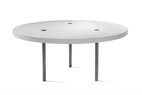 martin szekely table ronde dite prototype 1