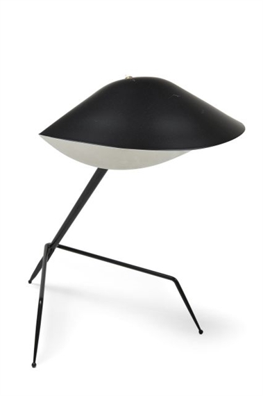 serge mouille lampe poser dite tripode 1954. Black Bedroom Furniture Sets. Home Design Ideas