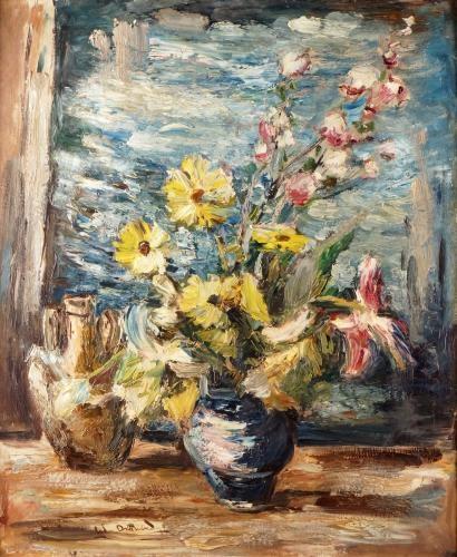 Anders osterlind vase de fleurs devant la for Devant la fenetre