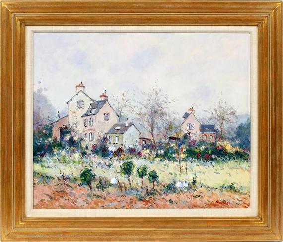 Artworks of jean pierre dubord french 1949 for Au jardin de jean pierre