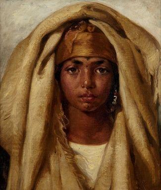 Fille Arabe guillaumet gustave | jeune fille arabe | mutualart