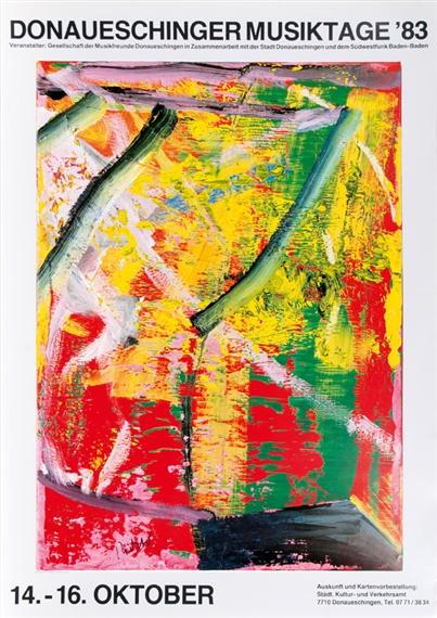 Zwei Liebespaare Kunstkarte Gerhard Richter Postcard Art