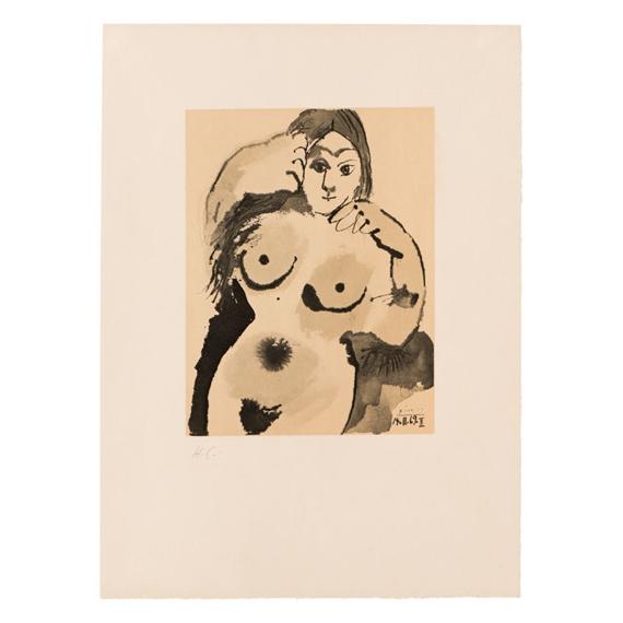 Pablo Picasso Female Nude 101