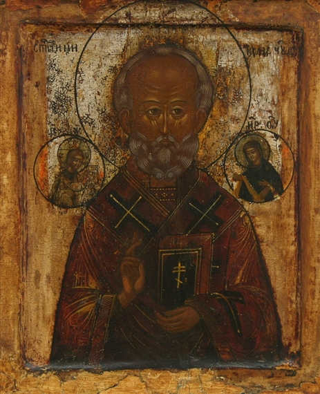 an introduction to the mythology of saint nicholas The ultimate list of badass warriors from history and mythology ') of fourth-century orthodox christian saint nicholas the wondermaker was the patron.