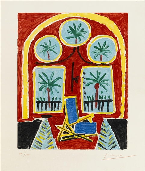 Picasso pablo the departure b 686 m 201 1951 for Interieur 928