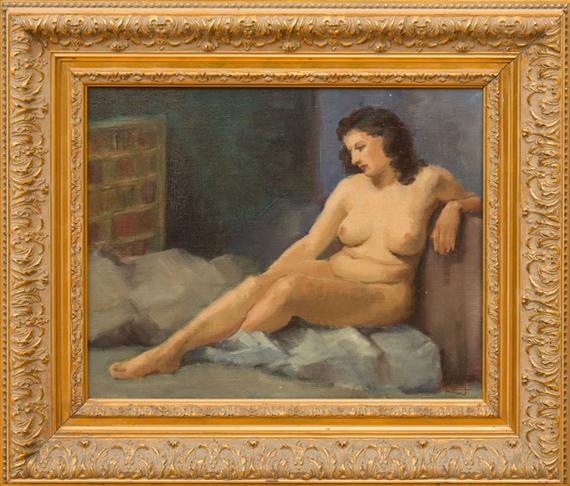Nude portrait of napoleons sister