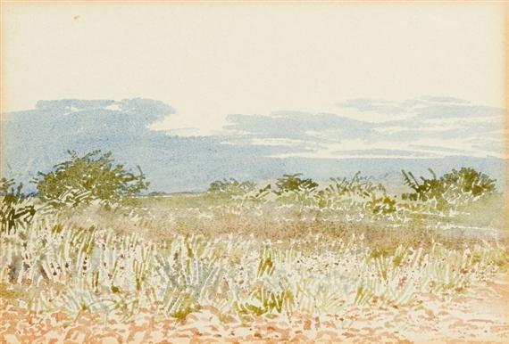 Adolph Stephan Friedrich Jentsch - Bushveld, 1965,...
