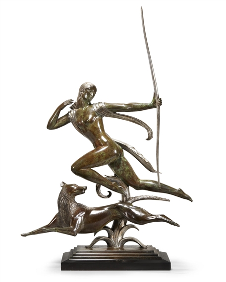 a report on two sculptures of actaeon and diana by paul manship Did you know that the two bronze sculptures on the eastside of the norton museum are re-telling a myth actaeon was a mortal hunter who came upon diana bathing one day.