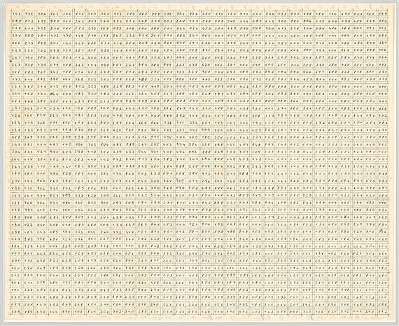 Richter Gerhard   Portfolio Farbfelder. 6 Anordnungen von 1260 ...