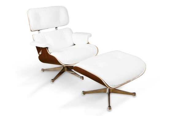 Charles ray eames lounge chair 670 et son - Charles et ray eames chaise ...