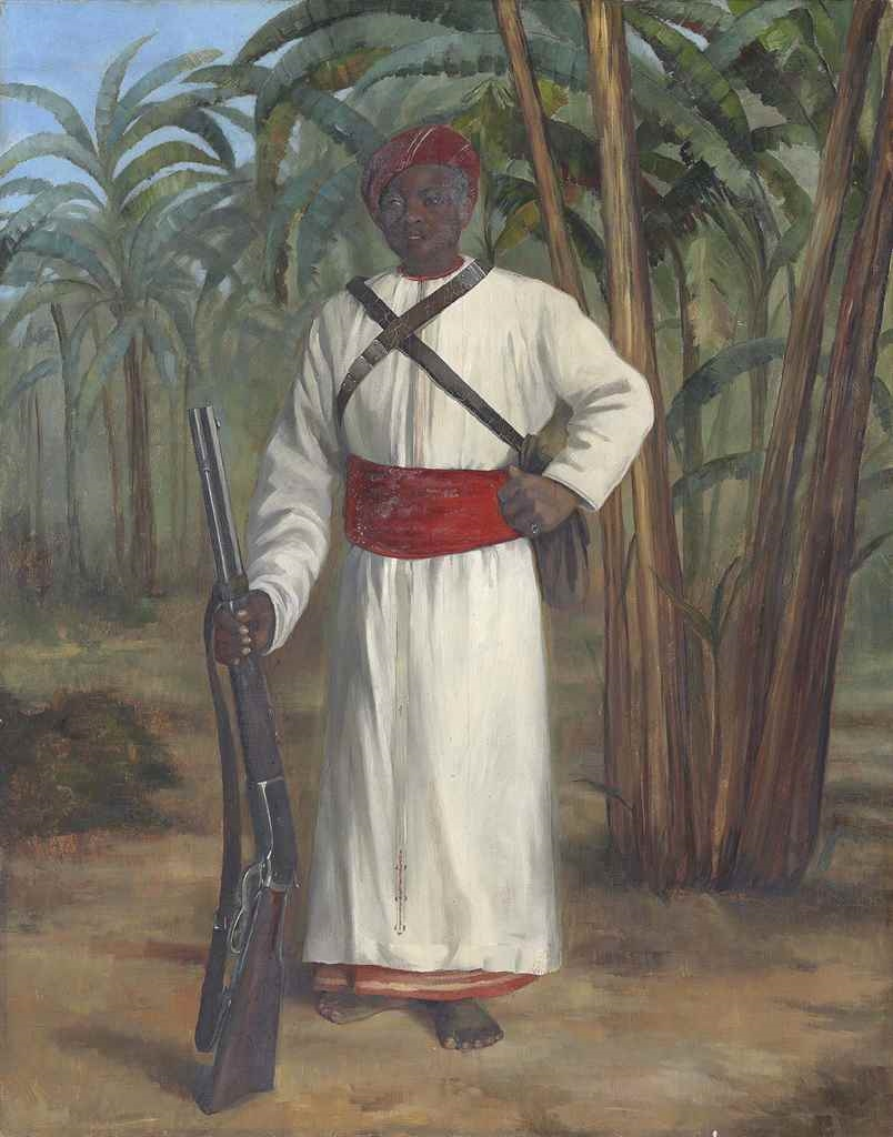 Tennant Dorothy Portrait Of Sali Standing Full Length In White Robes With A Red Sash And Headdress Mutualart