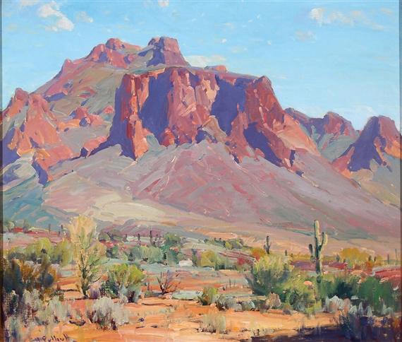 Puthuff Hanson | Desert Rampart | MutualArt
