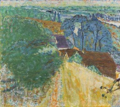 Artwork by Pierre Bonnard, Vernon, l'été, Made of oil on canvas