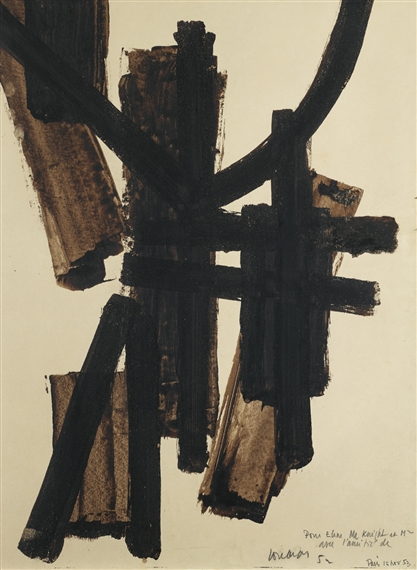 pierre soulages peinture 2011 acrylic on canvas. Black Bedroom Furniture Sets. Home Design Ideas