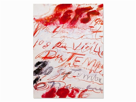 twombly cy | cy twombly poster (1986) | mutualart