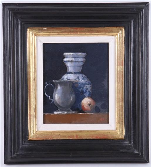 Mooney Martin Still Life With Spanish Vase 1997 Mutualart