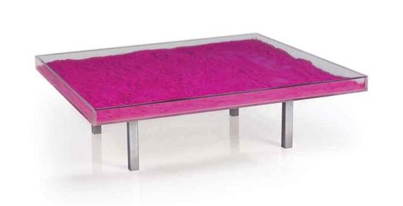 Klein Yves Table Bleue Mutualart