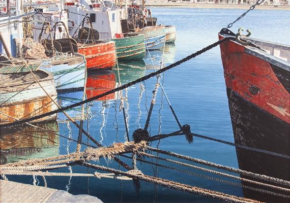 Doherty john 51 artworks mutualart for Dali tuna fishing