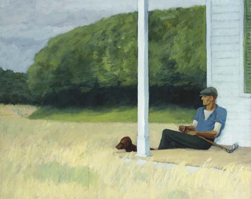 Artwork by Edward Hopper, Clamdigger, Made of oil on canvas