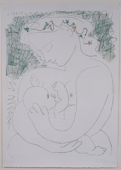 Picasso Pablo | Grand Maternite | MutualArt