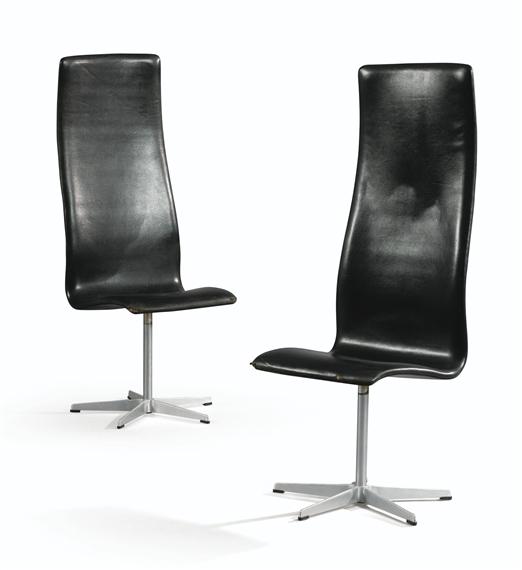 arne jacobsen 2 works fauteuils oxford 1960. Black Bedroom Furniture Sets. Home Design Ideas