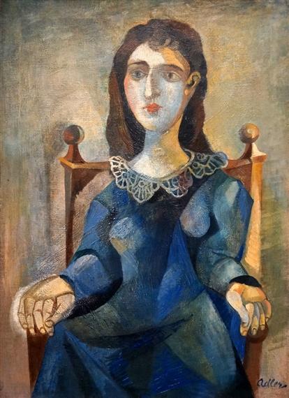 artworks of jankel adler  polish  1895