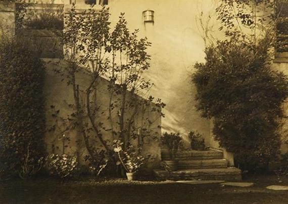 Arnold Genthe Untitled Garden Steps 1933