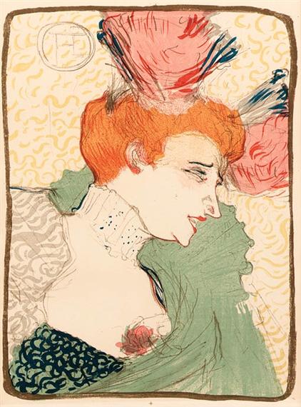 Henri de toulouse lautrec invitation une - Mademoiselle marcelle ...