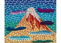 Kusama Yayoi | MT  FUJI (1989) | MutualArt