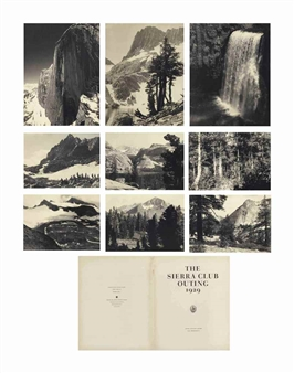 Ansel Adams - The Sierra Club Outing, 1929,... Ansel Adams Clearing Winter Storm Analysis