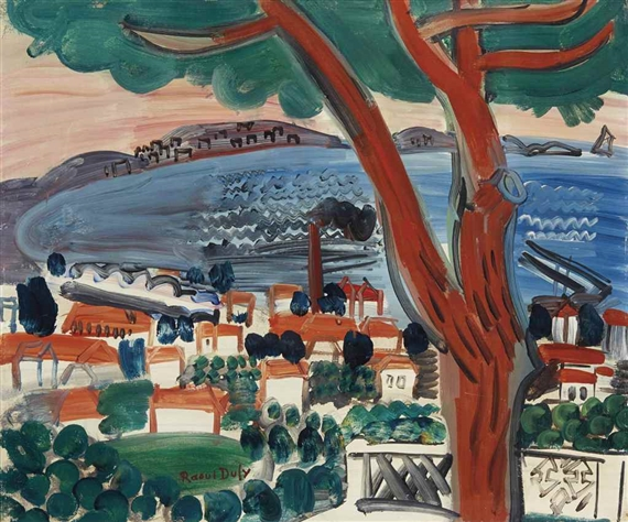 golfe juan by raoul dufy The antibes, raoul dufy - 1926 the antibes, raoul dufy - 1926.