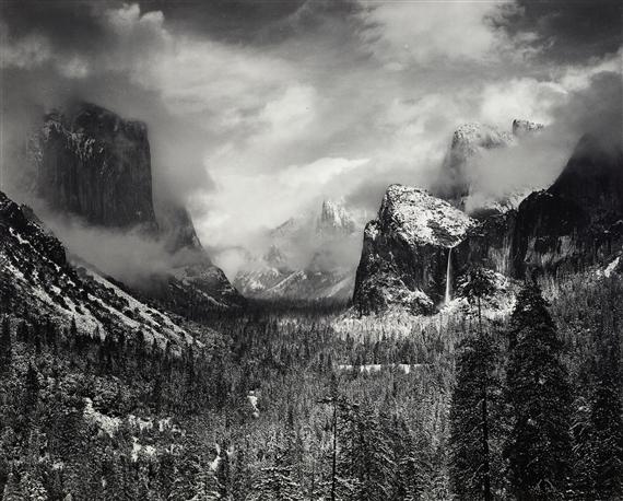 Adams Ansel | Clearing Winter Storm, Yosemite National ... Ansel Adams Clearing Winter Storm Analysis