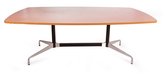 Charles Ray Eames Conference Table MutualArt - Eames oval conference table